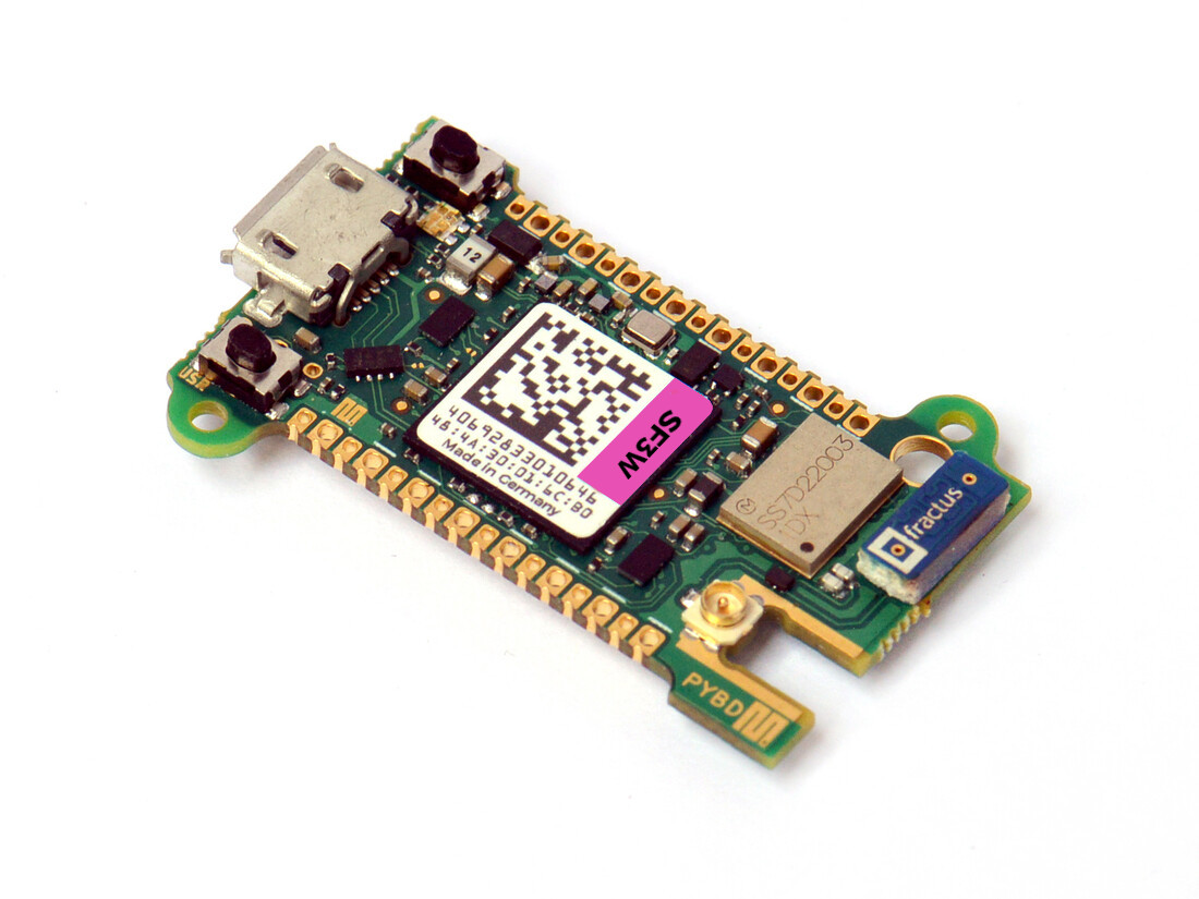 Pyboard D-series with STM32F723 and WiFi/BT
